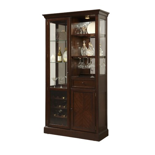 pulaski curio bar cabinet reviews wayfair