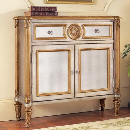Savoy Mirrored 2 Drawer Hall Chest