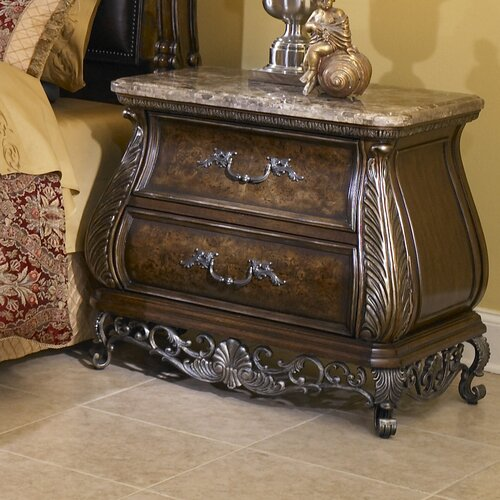 Birkhaven 2 Drawer Nightstand