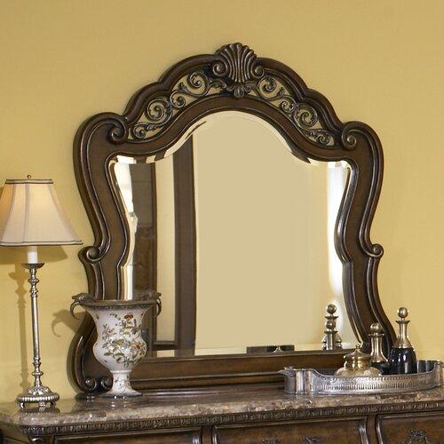 Pulaski Furniture Birkhaven Crowned Top Dresser Mirror