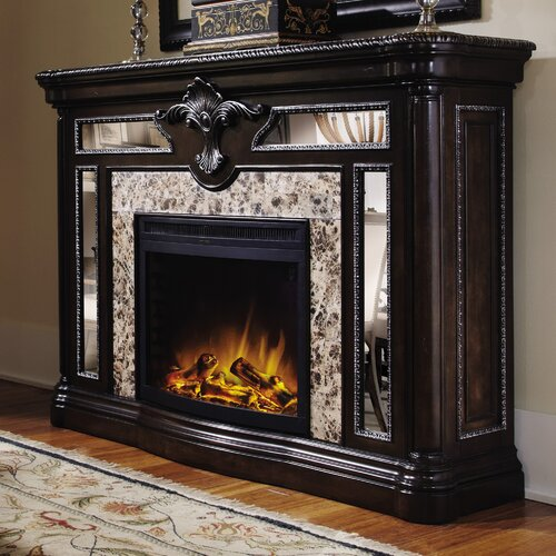 electric fireplace mantel packages wayfair