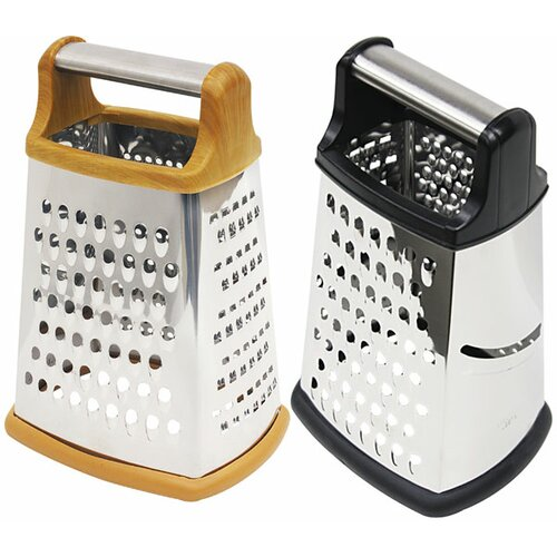 4 Side Metal Handle Cheese Grater