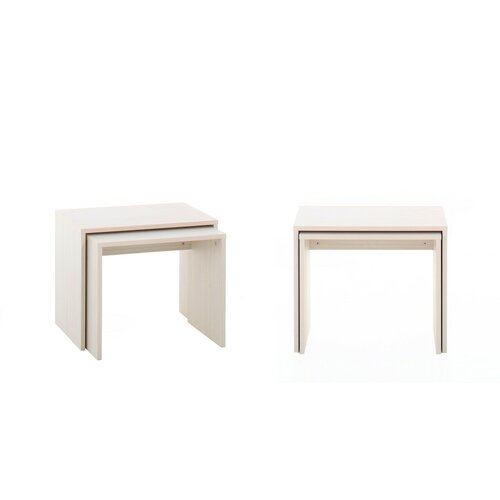 Whitney 3 Piece Nesting Tables (Set of 2)