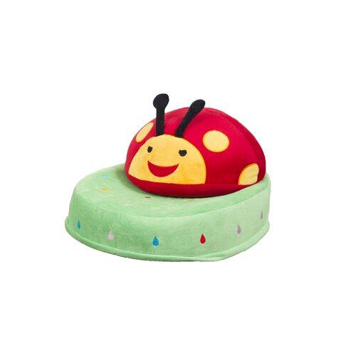 Critter Cushion Ladybug Kids Chair