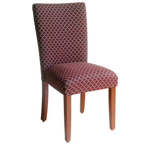High back fabric dining chairs wayfair for High back parsons chair