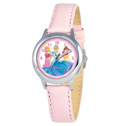 Disney Watches Girl's Princess Time Teacher Watch