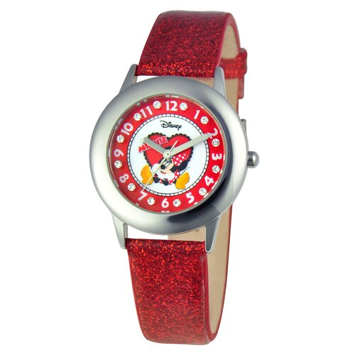 Girls Tween Glitz Minnie Mouse Watch