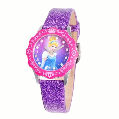 Girls Tween Glitz Cinderella Watch