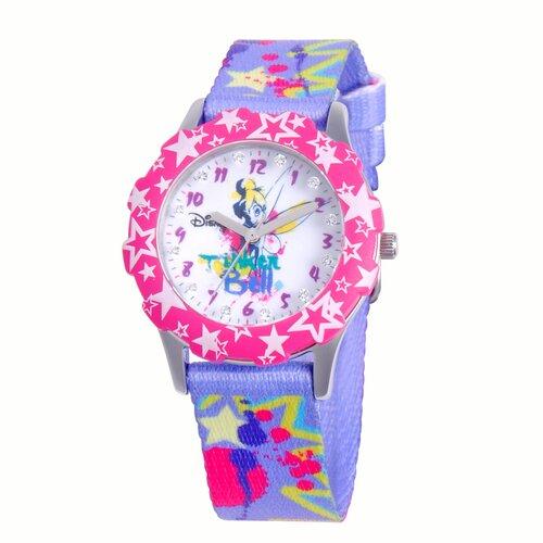 Girls Tween Glitz Tinker Bell Watch