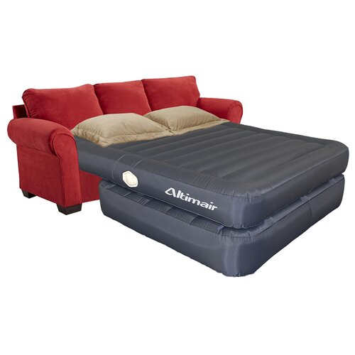 Altimair lustrous premium 22 air mattress addition for Air bed sofa sleeper