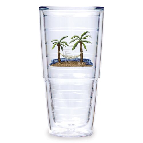 Tervis Tumbler Palm and Hammock 24 oz. Insulated Tumbler