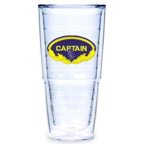 Tervis Tumbler Nautical Capain 24 oz. Insulated Tumbler