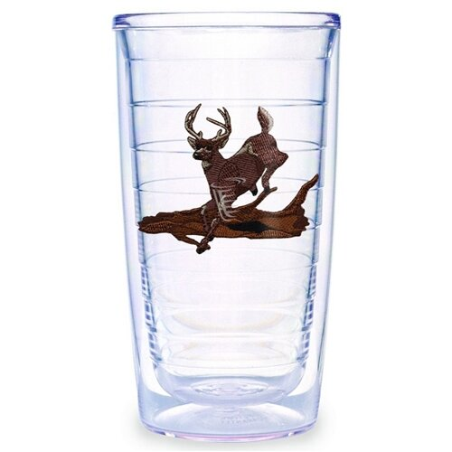 Tervis Tumbler Animals and Wildlife Deer Running 16 oz. Insulated Tumbler