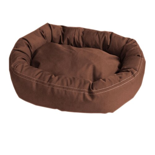Zoey Tails Brutus Tuff Comfy Cup Bolster Dog Bed
