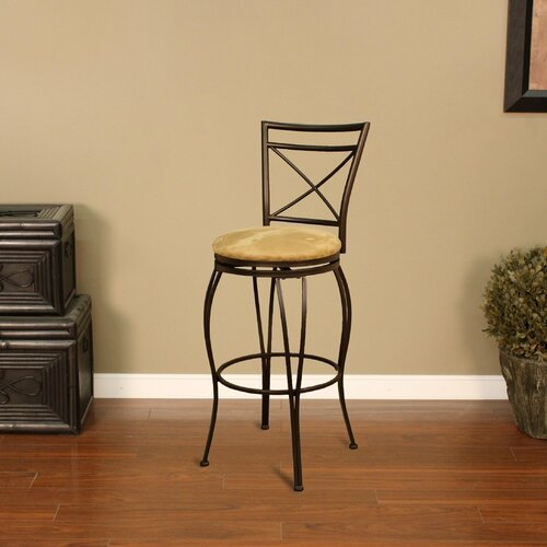 "American Heritage Torino 24"" Swivel Bar Stool"