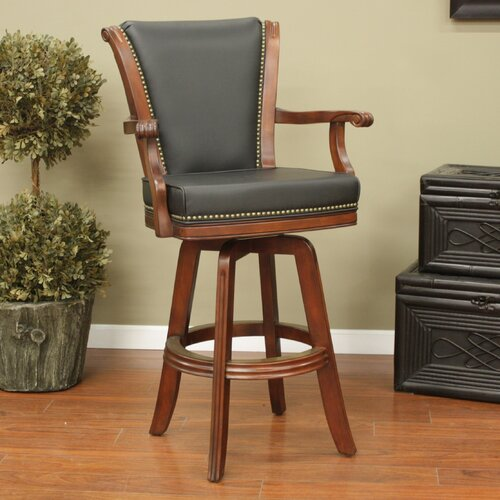 Napoli Swivel Bar Stool with Cushion