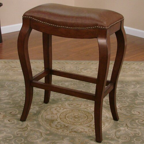 "American Heritage Emilio 30"" Bar Stool with Cushion"