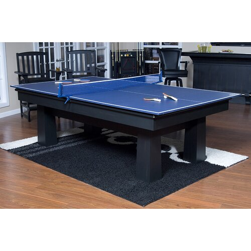 American Heritage Drop Shot Ping Pong Conversion Top Table Tennis Table