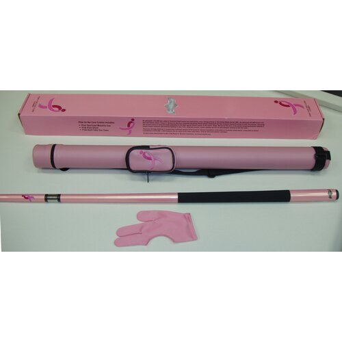 American Heritage Cue And Case Combo Pink For The Cure