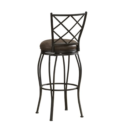 "American Heritage Ava 26"" Swivel Bar Stool"