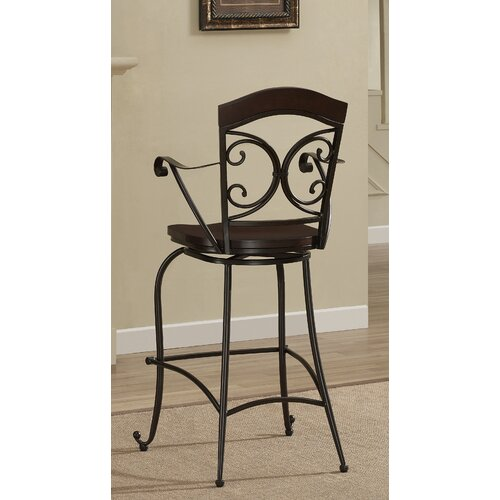 "American Heritage Vera 26"" Swivel Bar Stool"