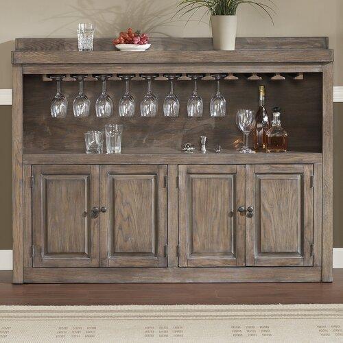 Rustic Wood Cabinet Wayfair