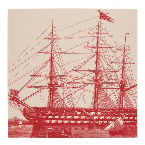 Thomas Paul Ship Napkins
