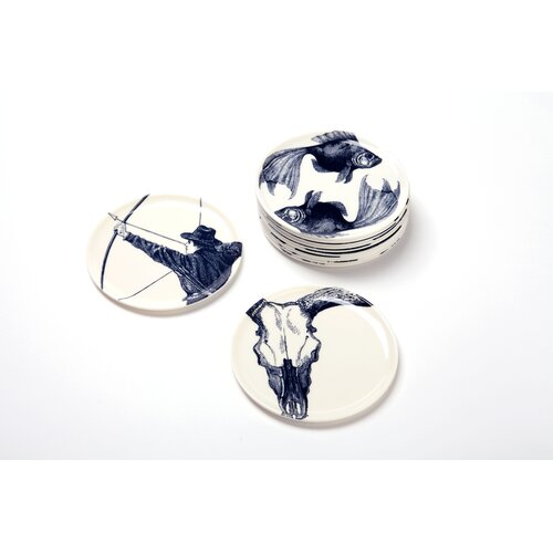 Thomas Paul Zodiac Coaster Set