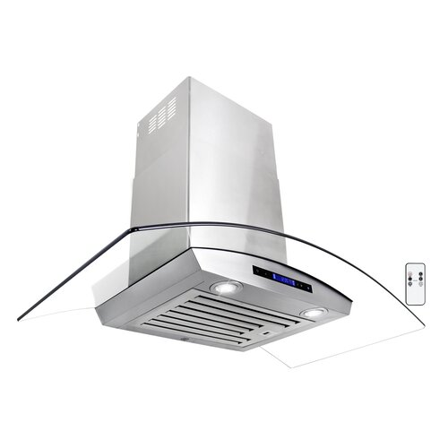 Cavaliere 30 Quot 900 Cfm Stainless Steel Wall Mount Range