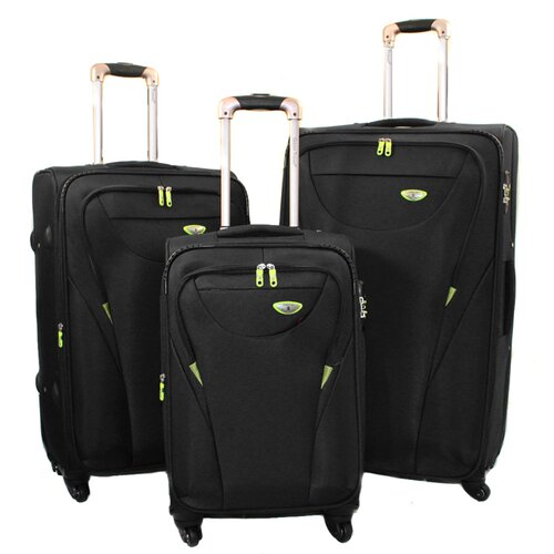 sheldon 3 piece luggage set wayfair. Black Bedroom Furniture Sets. Home Design Ideas