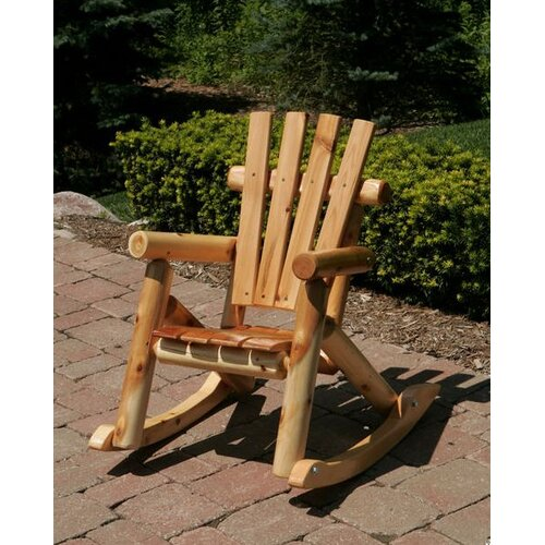 Moon Valley Rustic Nicholas Collection Child's Rocking Chair