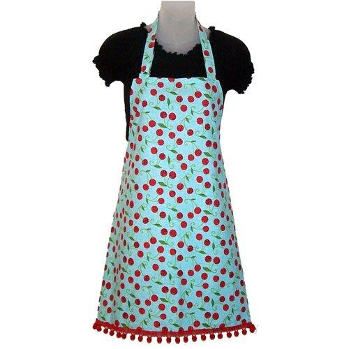 Cherry Fresh Women's Bib Style Apron