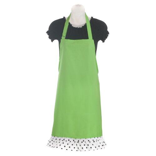 Sassy Cook'n Stiletto Children's Apron in Sour Apple Green