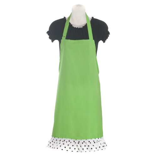 Stiletto Women's Apron in Sour Apple Green