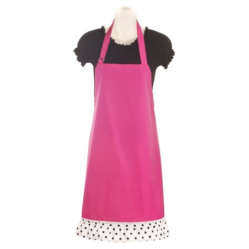 Stiletto Women's Apron in Bright Pink