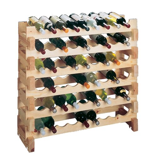 Wine Cellar Innovations Country Pine 9 Bottle Wine Rack