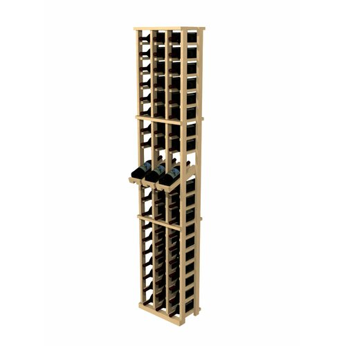 Rustic Pine 60 Bottle Wine Rack