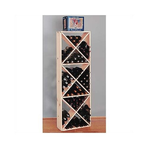 Wine Cellar Innovations Country Pine Solid 132 Bottle Wine Rack