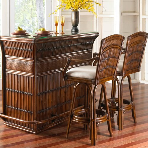 Hospitality Rattan Polynesian Indoor Home Bar