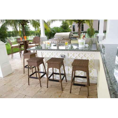 "Hospitality Rattan Grenada 30"" Barstool"