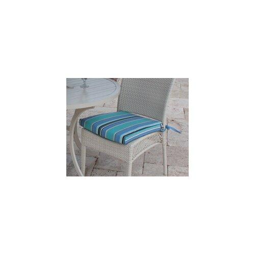Hospitality Rattan Grenada Patio Dining Side Chair Cushion
