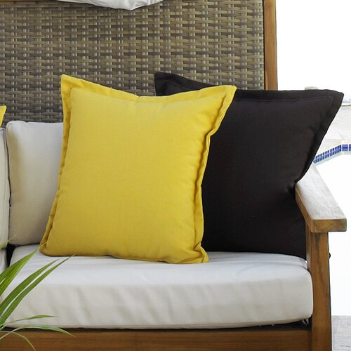 Hospitality Rattan Cushions Outdoor Fabric Throw Pillows