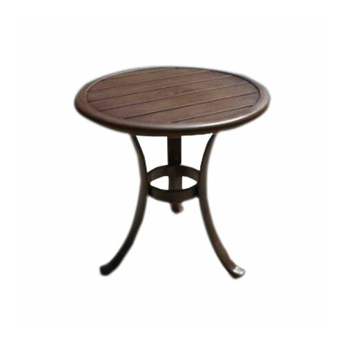 hospitality rattan coco palm patio side table reviews wayfair
