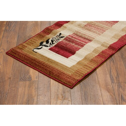 Well Woven Dulcet Red Whisper Twigs Rug