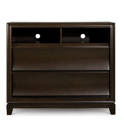 Meridan 2 Drawer Media Chest