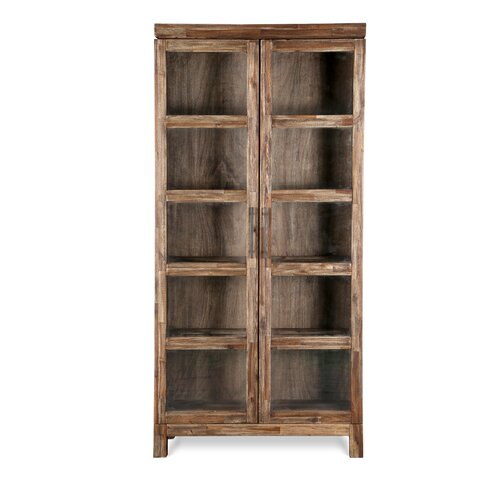 Altra Glass Door Bookcase & Reviews  Wayfair