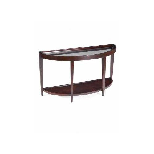 Magnussen Furniture Carson Demilune Console Table