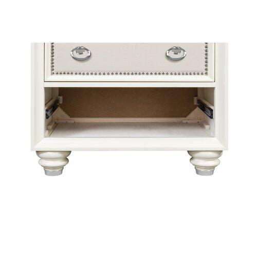Magnussen Furniture Diamond 3 Drawer Nightstand