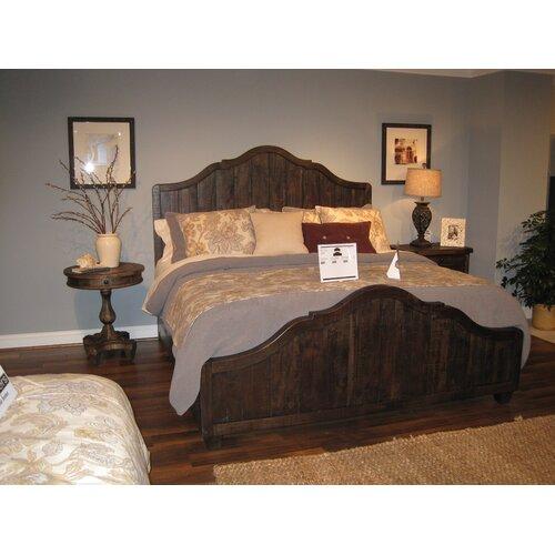 brenley panel bed wayfair