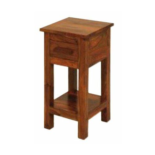 Solid wood telephone table wayfair uk
